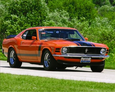 Bill Dalton's Mustang